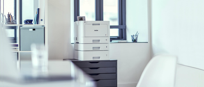 Vähittäiskaupan toimistoympäristöissä tulostaminen