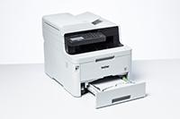MFC-L3750CDW suuri paperikapasiteetti säästää aikaa