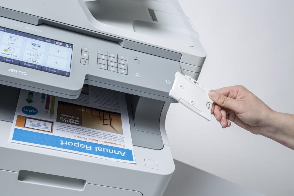 ID-korttitunnistuksella vapautat tulostuksen