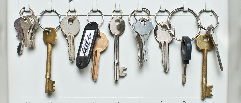Avainkaapissa on merkkaamaton avain