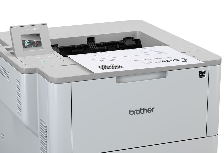 HL-L6300DW-tulostin tulostaa viivakoodeja