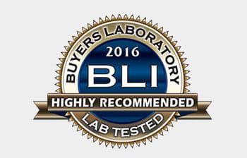BLI 2016 Highly Recommended -merkki suositellusta tuotteesta