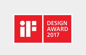 iF Design Award 2017 -palkinto