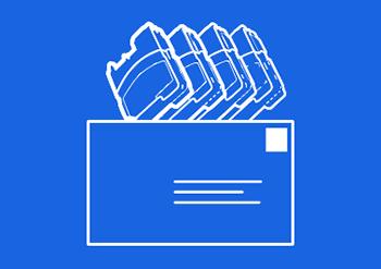 Mustekasettien kierrätyskuori