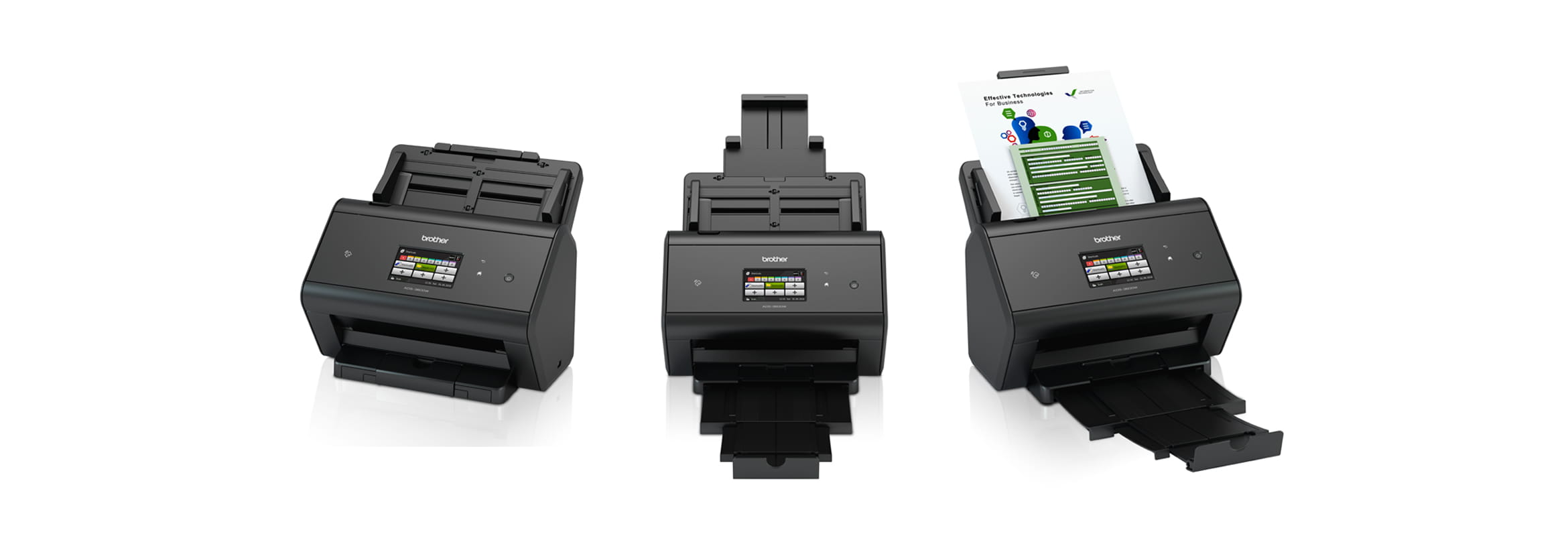 Scanner range from Brother