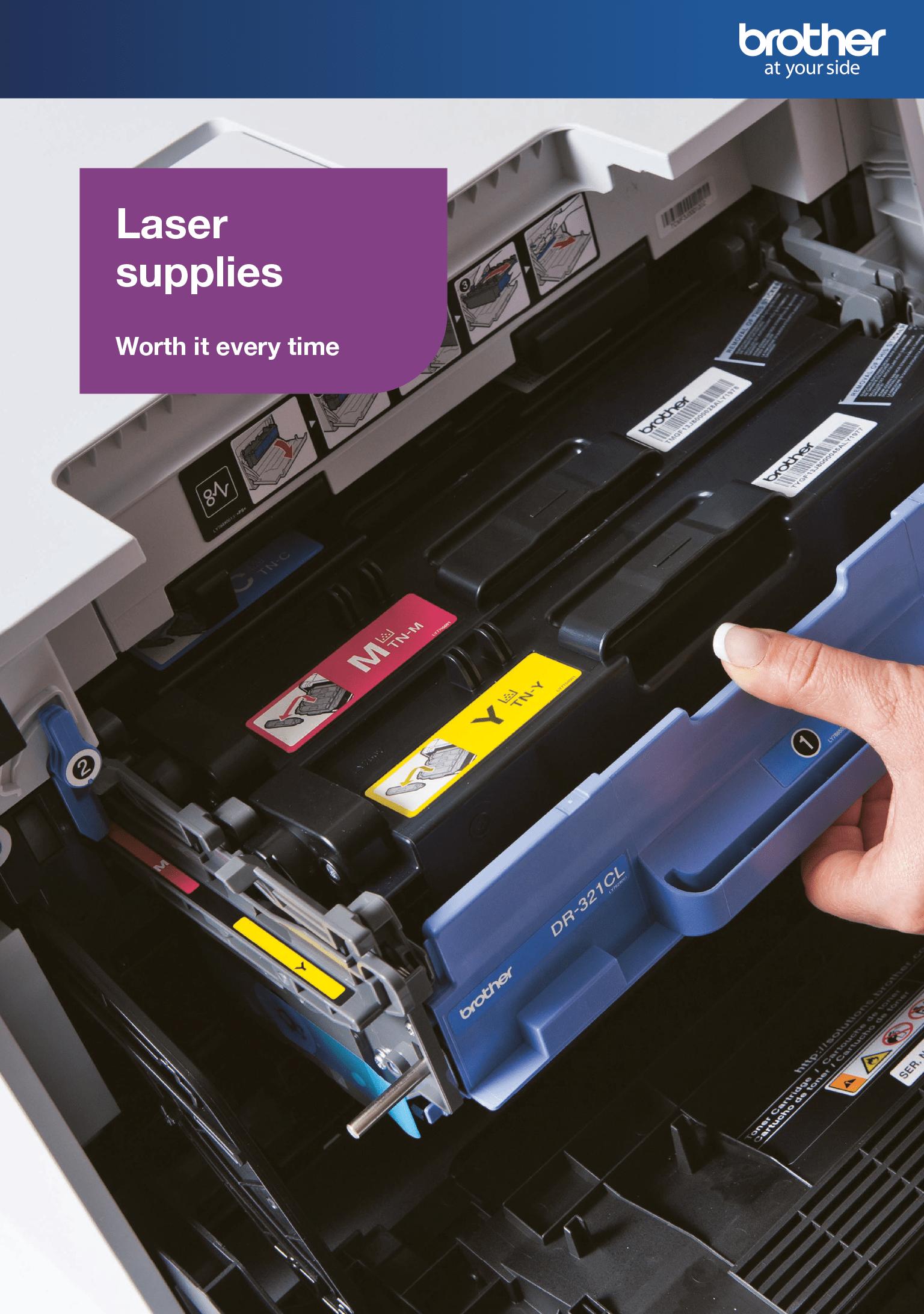 Laserlaitteisiin soveltuvat värikasetit