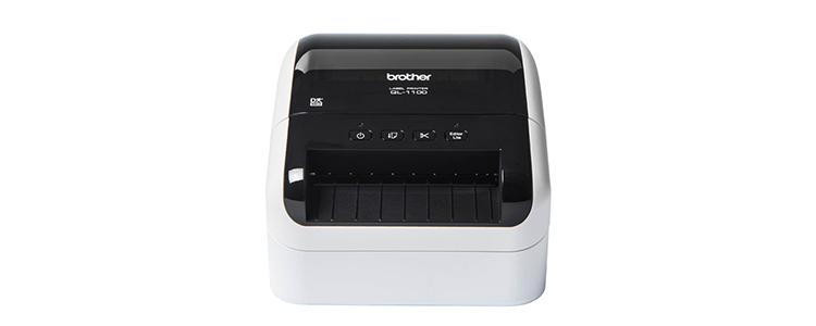 QL-1100 sopii leveiden osoitetarrojen tulostukseen