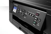 DCP-J572DW tulostin on helppokäyttöinen