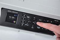 MFC-J497DW tulostimen käyttäminen on helppoa