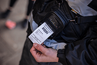 RJ2055WB-mobiilitulostimella on IP54-luokitus
