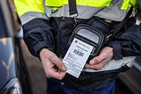 Kestävää RJ3055B-mobiilitulostinta voit käyttää huoletta missä vain käyttöympäristössä