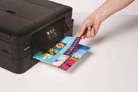 DCP-J785DW tulostimen värituloste