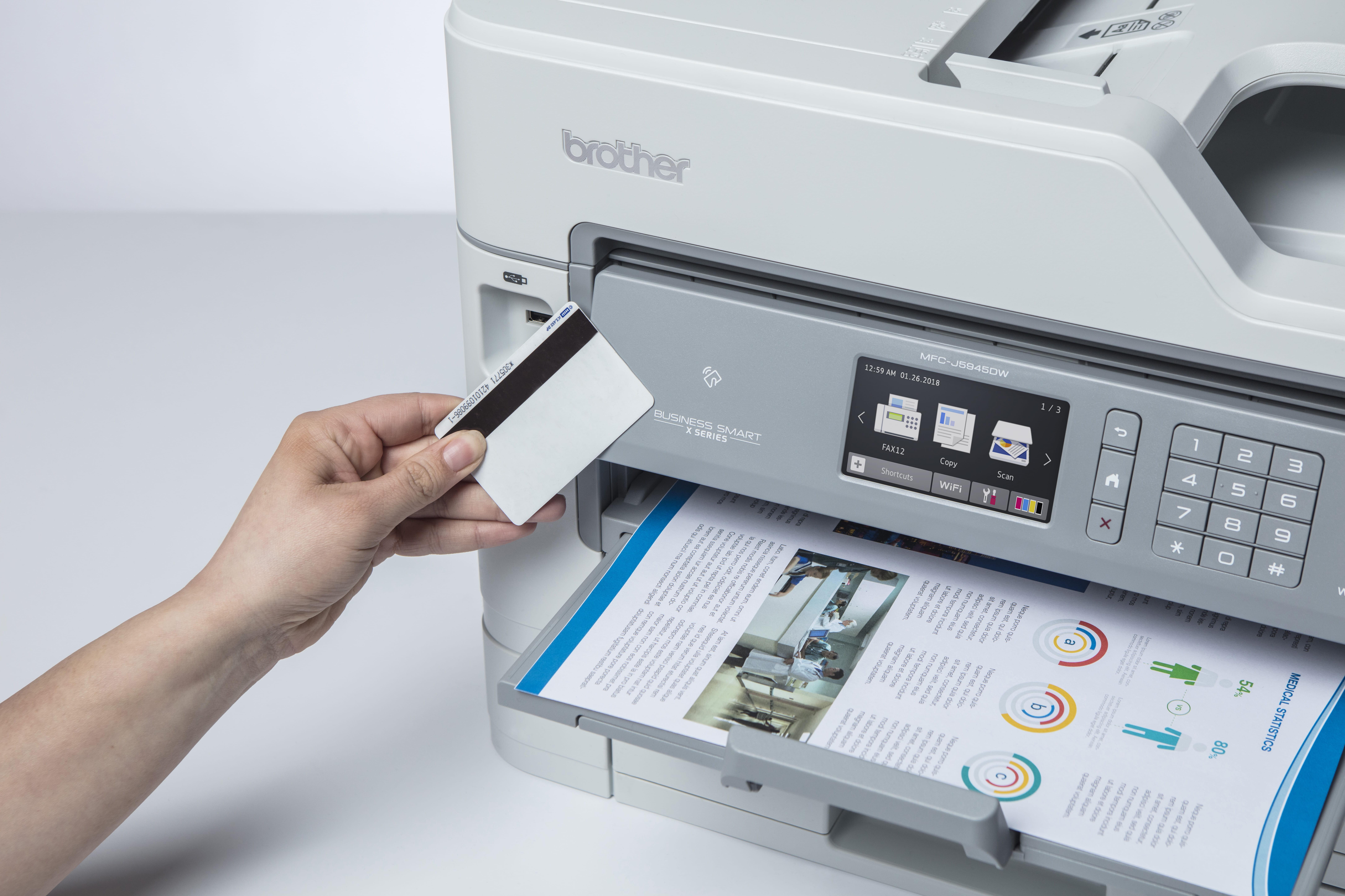 MFCJ5945DW NFC-kortinlukija