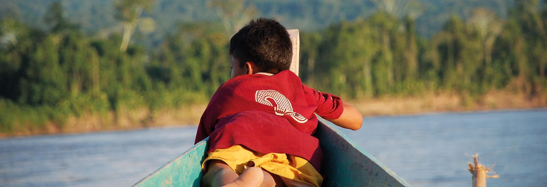Kierrättämällä tuet sademetsän lapsia