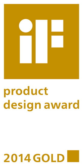 IF product Design Award 2014 GOLD