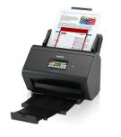 Brother ADS-2800W skanneri tarjoaa sekä kiinteän että langattoman verkkoyhteyden lisäten tehokkuutta ja joustavuutta.