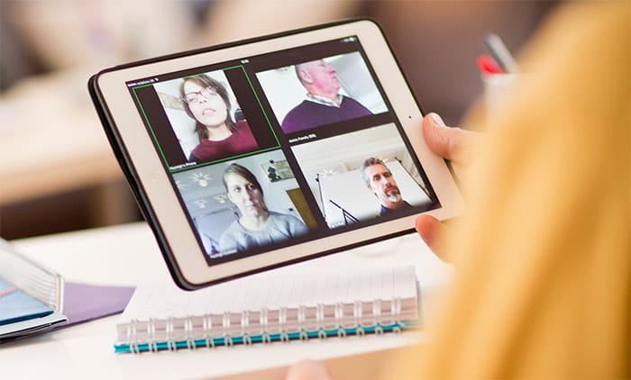 Brother OmniJoin -verkkoneuvottelun voi järjestää myös iPadilla