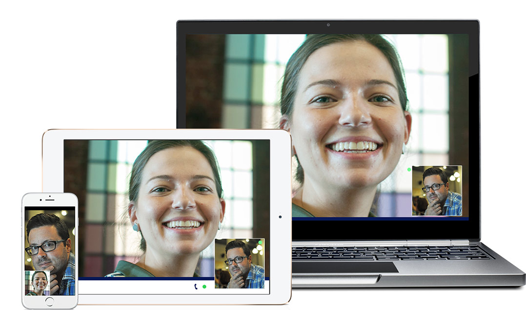 Brother OmniJoinia voi käyttää puhelimelta, tabletilta, PC:ltä ja läppäriltä