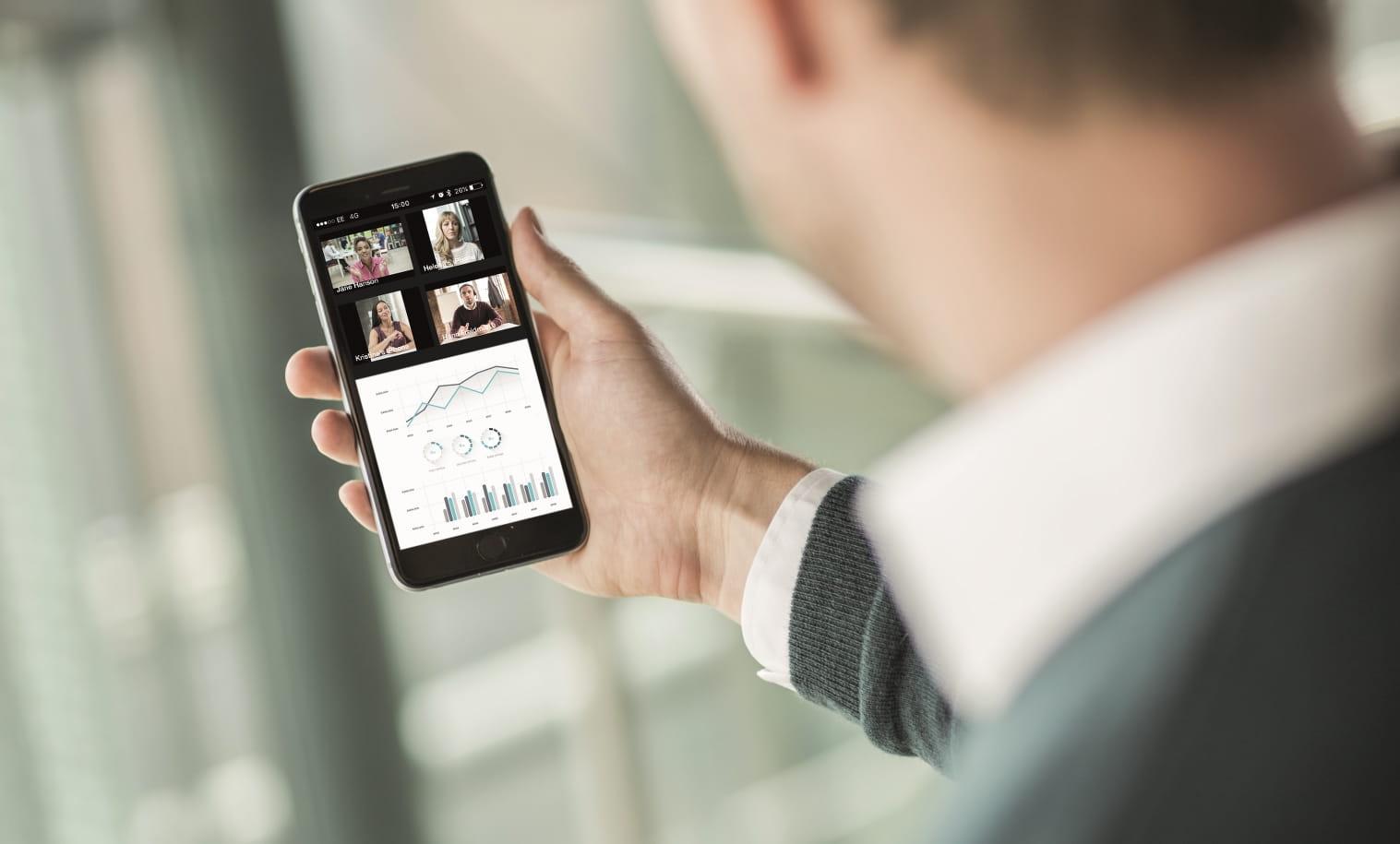OmniJoin-verkkoneuvotteluun voi osallistua älypuhelimella