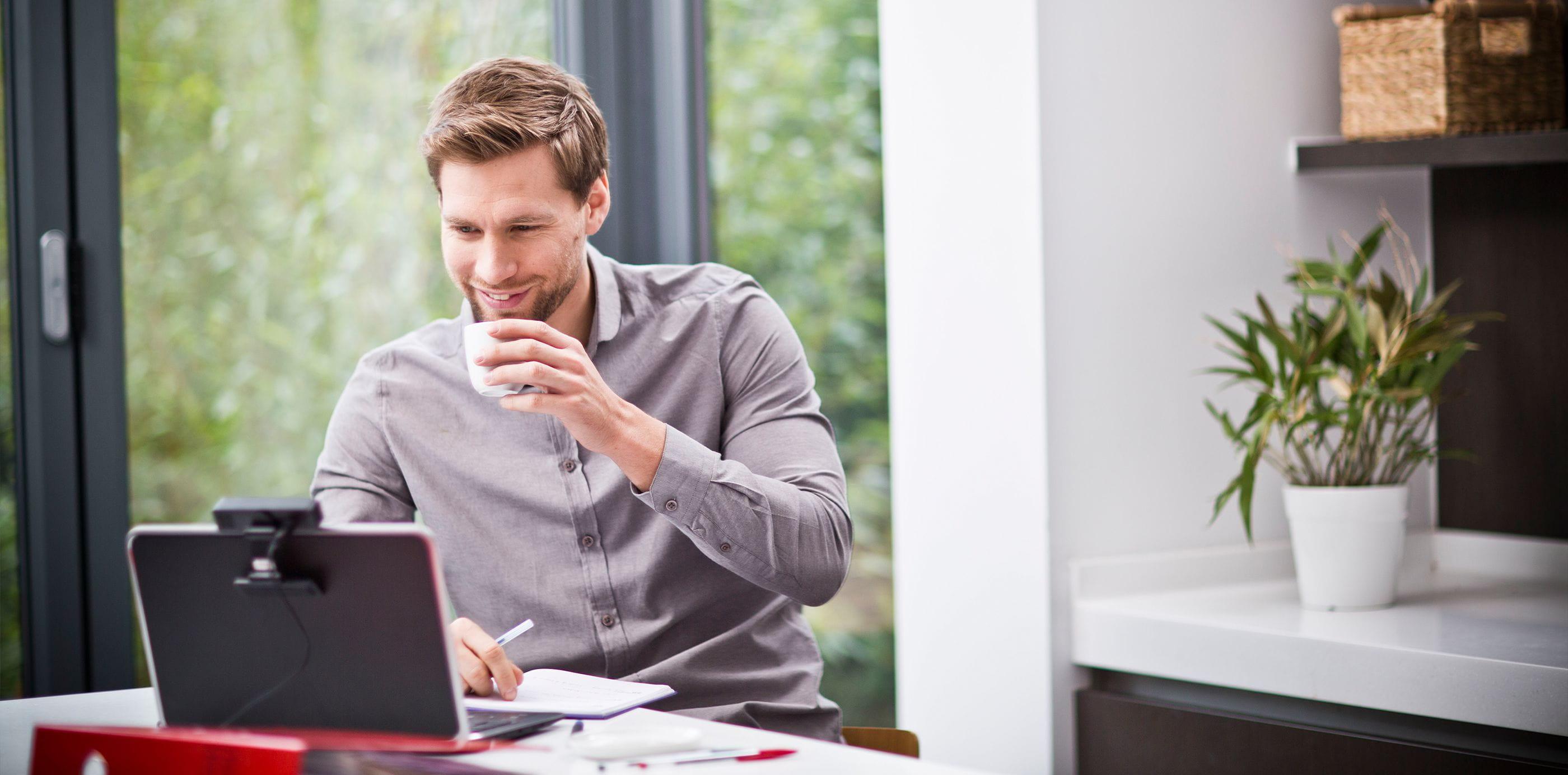 Brother OmniJoin -verkkoneuvotteluun voi osallistua kotoa tai toimistosta käsin