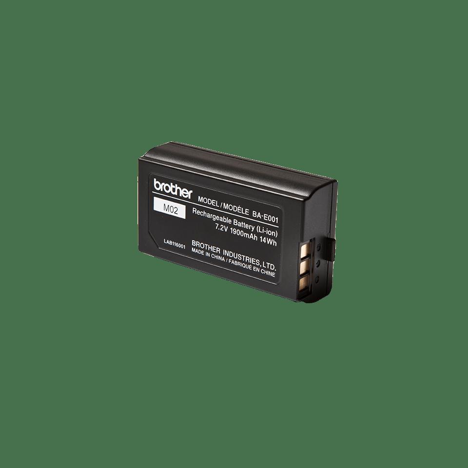 Alkuperäinen Brother BA-E001 P-touch ladattava litiumioniakku