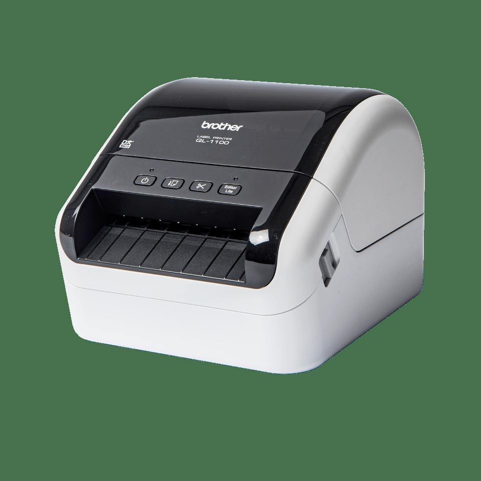 QL-1100 etikettitulostin leveiden osoitetarrojen tulostukseen 2