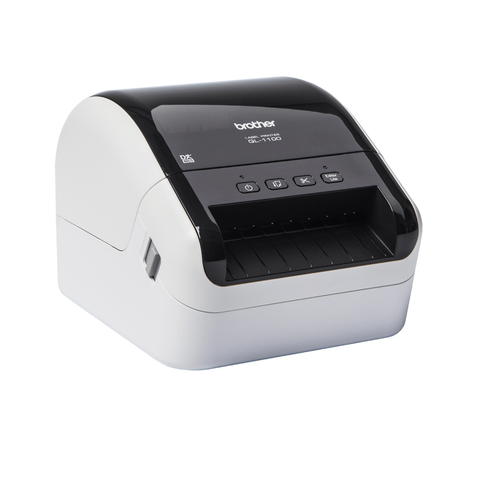 QL-1100 etikettitulostin leveiden osoitetarrojen tulostukseen 3