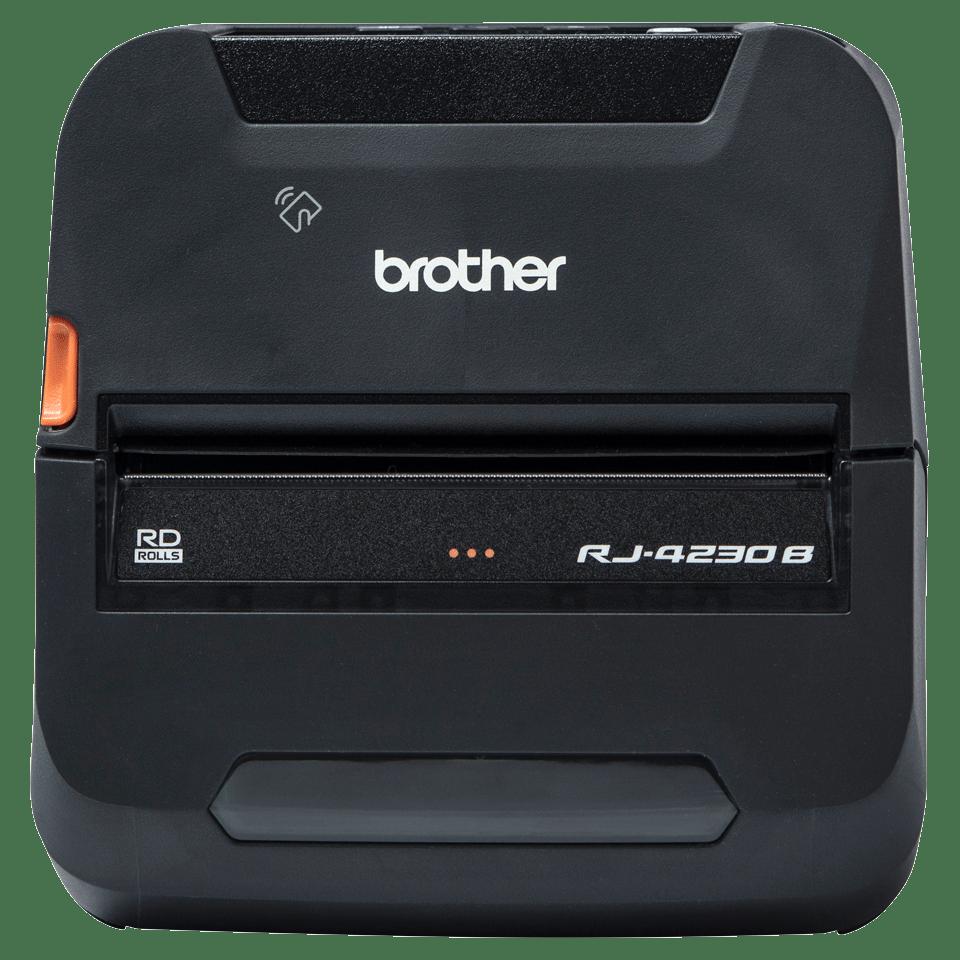 Brother RJ-4230Bmobiilitulostin kuitti- ja tarratulostukseen Bluetoothilla