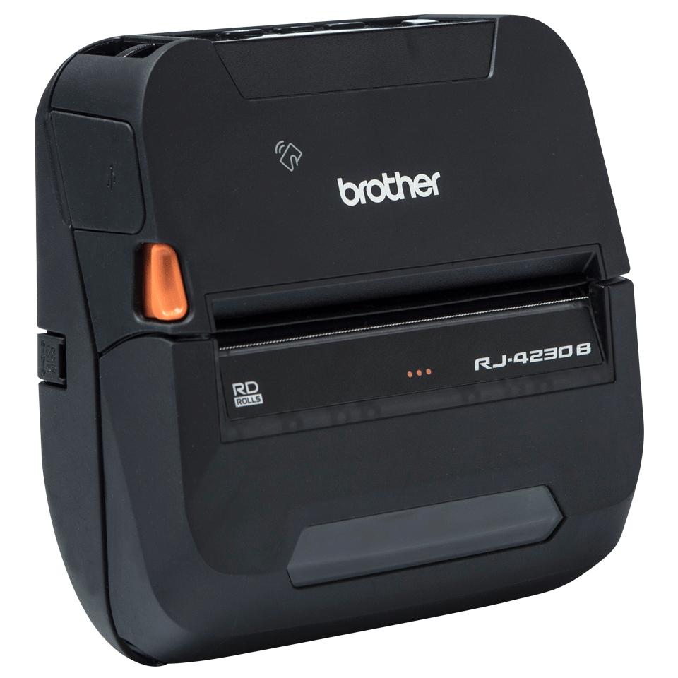 Brother RJ-4230Bmobiilitulostin kuitti- ja tarratulostukseen Bluetoothilla 3