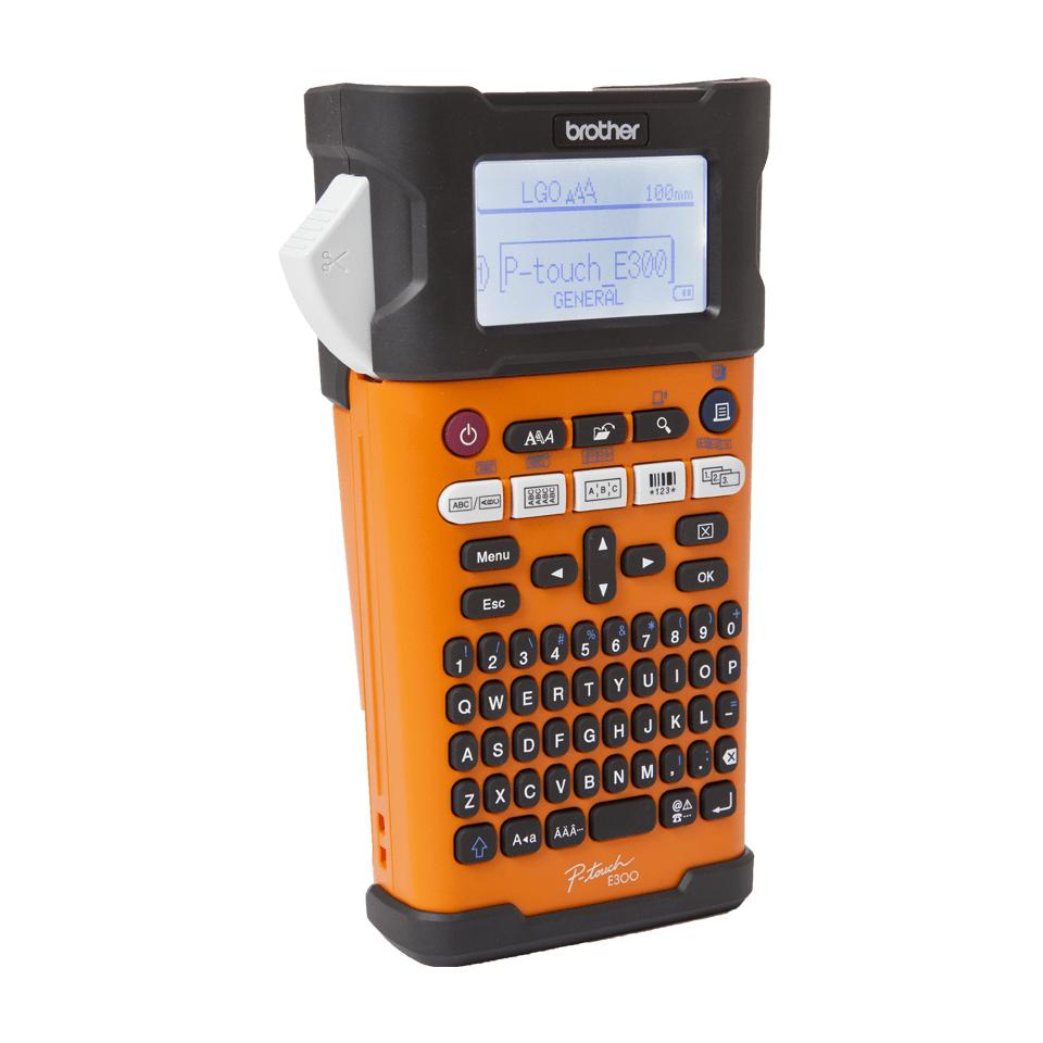 Brother P-touch PT-E300VP-tarratulostin teollisuuskäyttöön 2
