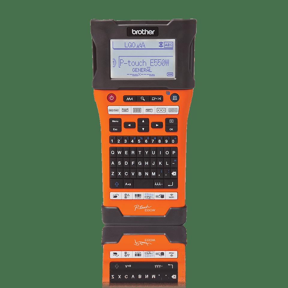 Brother P-touch PT-E550WVP-tarratulostin teollisuuteen PC- ja WiFi-yhteyksin