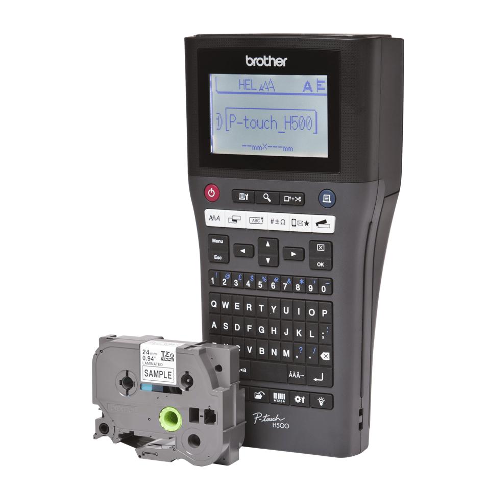 PT-H500 - Kannettava tarratulostin 2