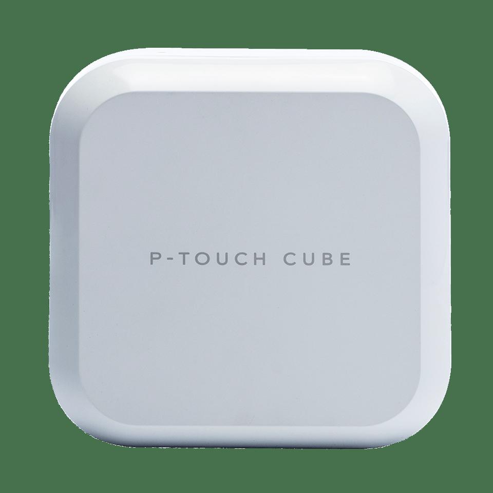 P-touch CUBE Plus (PT-P710BTH) - valkoinen, ladattava tarratulostin Bluetooth-yhteydellä
