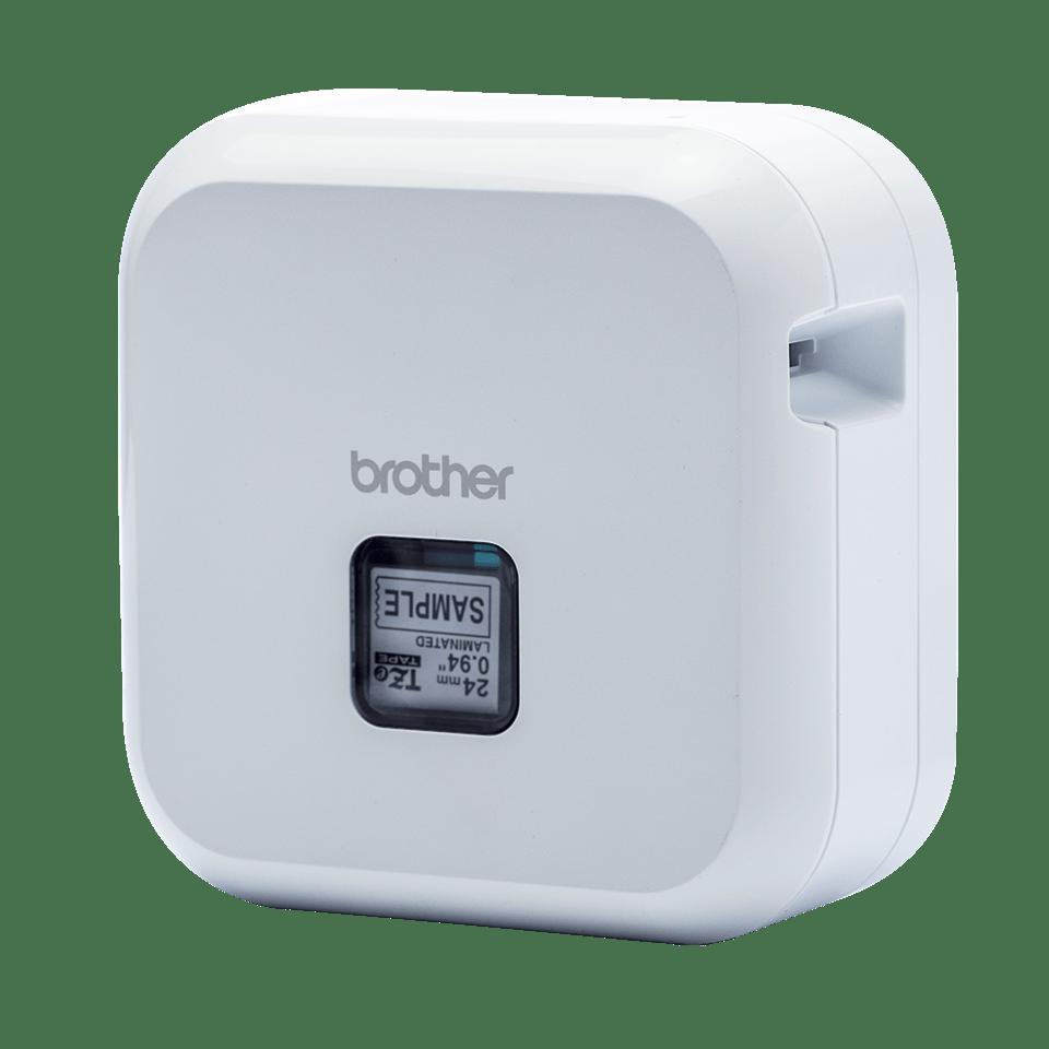 P-touch CUBE Plus (PT-P710BTH) - valkoinen, ladattava tarratulostin Bluetooth-yhteydellä 3
