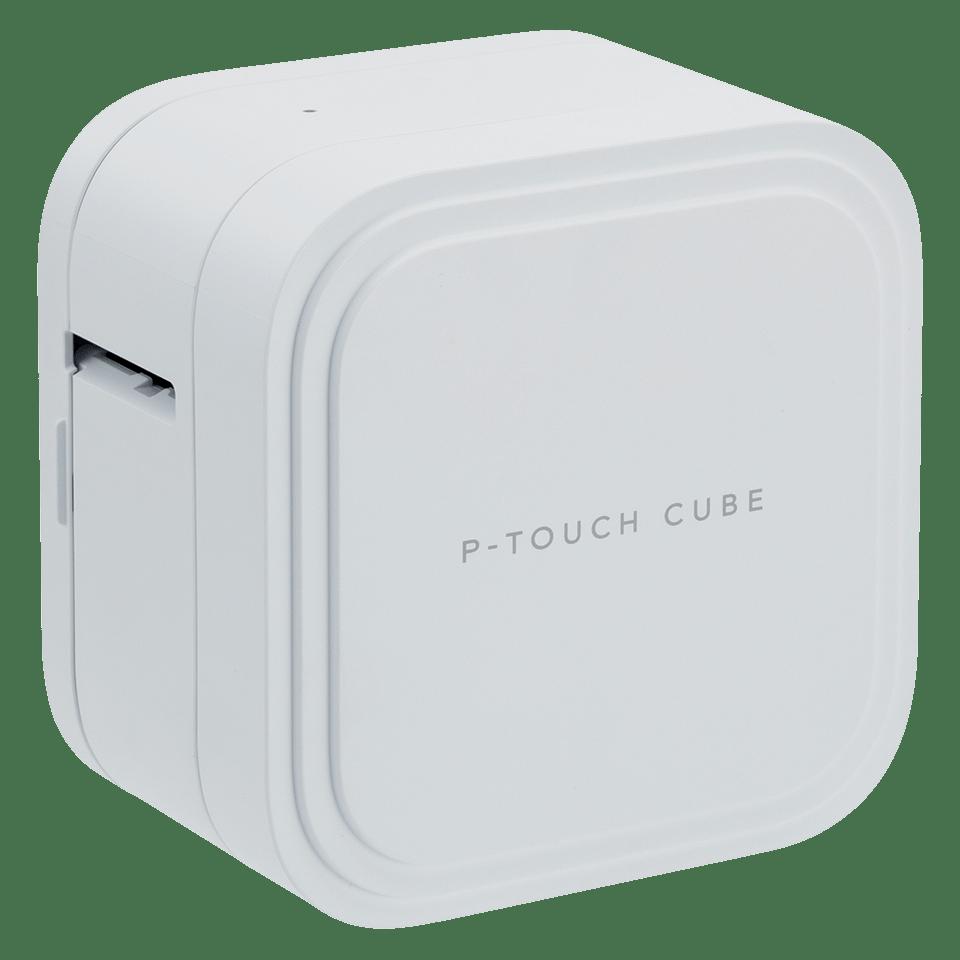 P-touch CUBE Pro (PT-P910BT) -tarratulostin ladattavalla akulla ja Bluetoothilla 2
