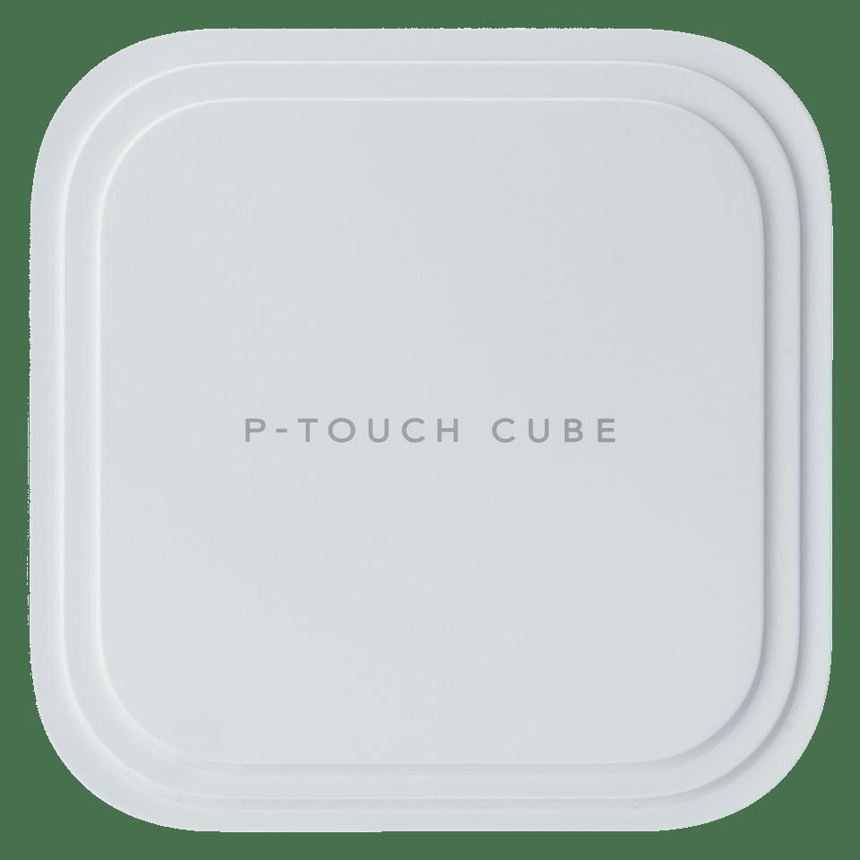 P-touch CUBE Pro (PT-P910BT) -tarratulostin ladattavalla akulla ja Bluetoothilla