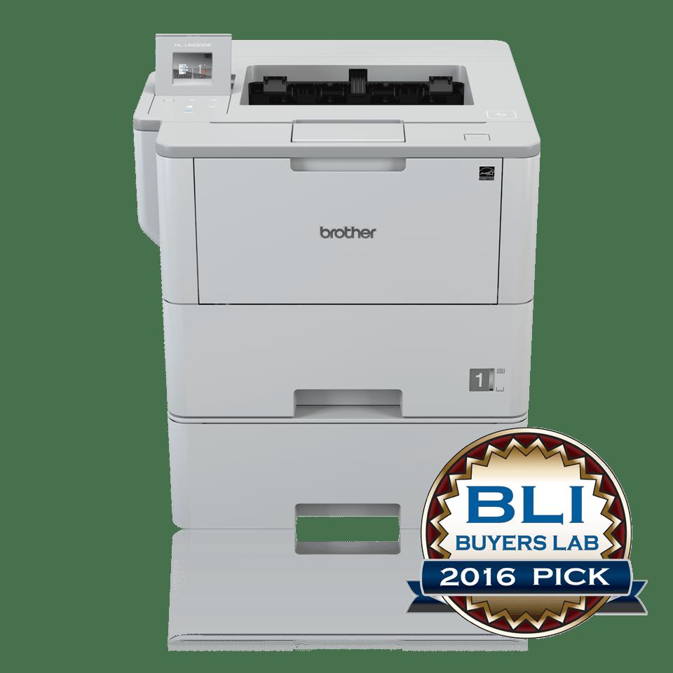 Brotherin langaton HL-L6400DWT-lasertulostin lisäpaperikasetilla