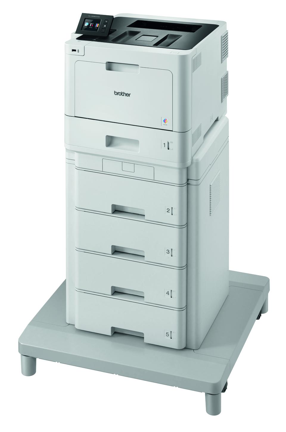 Langaton HL-L8360CDWMT värilasertulostin paperitornilla ja liitäntäyksiköllä 2