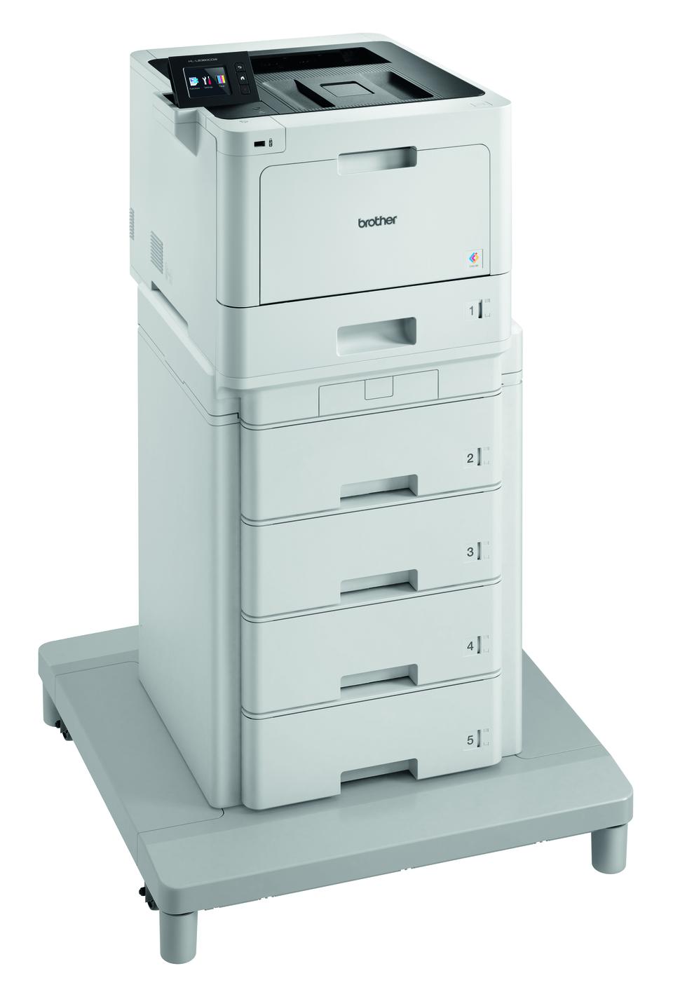 Langaton HL-L8360CDWMT värilasertulostin paperitornilla ja liitäntäyksiköllä 3