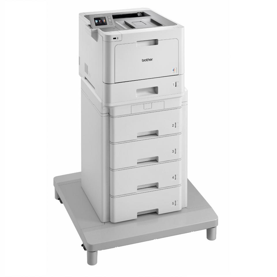 HL-L9310CDWMT - värilasertulostin paperitornilla ja liitäntäyksiköllä 3