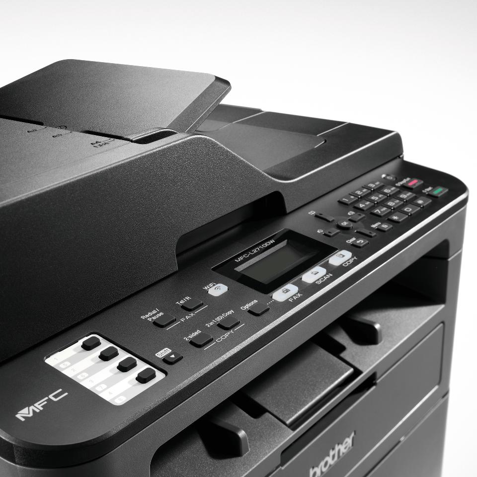 MFC-L2710DW - kompakti lasermonitoimilaite faksilla 5