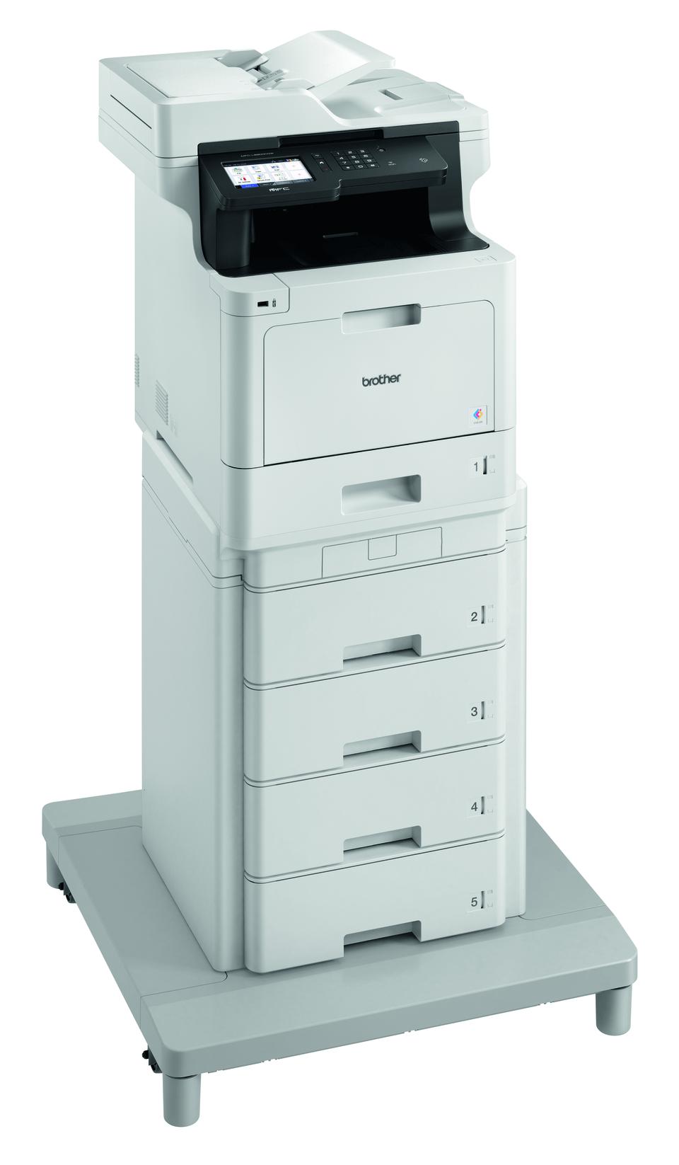 Brotherin langaton MFC-L8900CDWMT värilasermonitoimilaite paperitornilla ja liitäntäyksiköllä 3