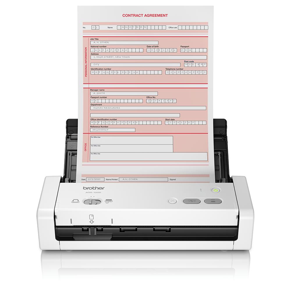 ADS-1200 Pieni kannettava asiakirjaskanneri