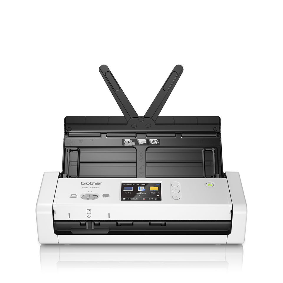 ADS-1700W Näppärä ja kompakti langaton asiakirjaskanneri  5
