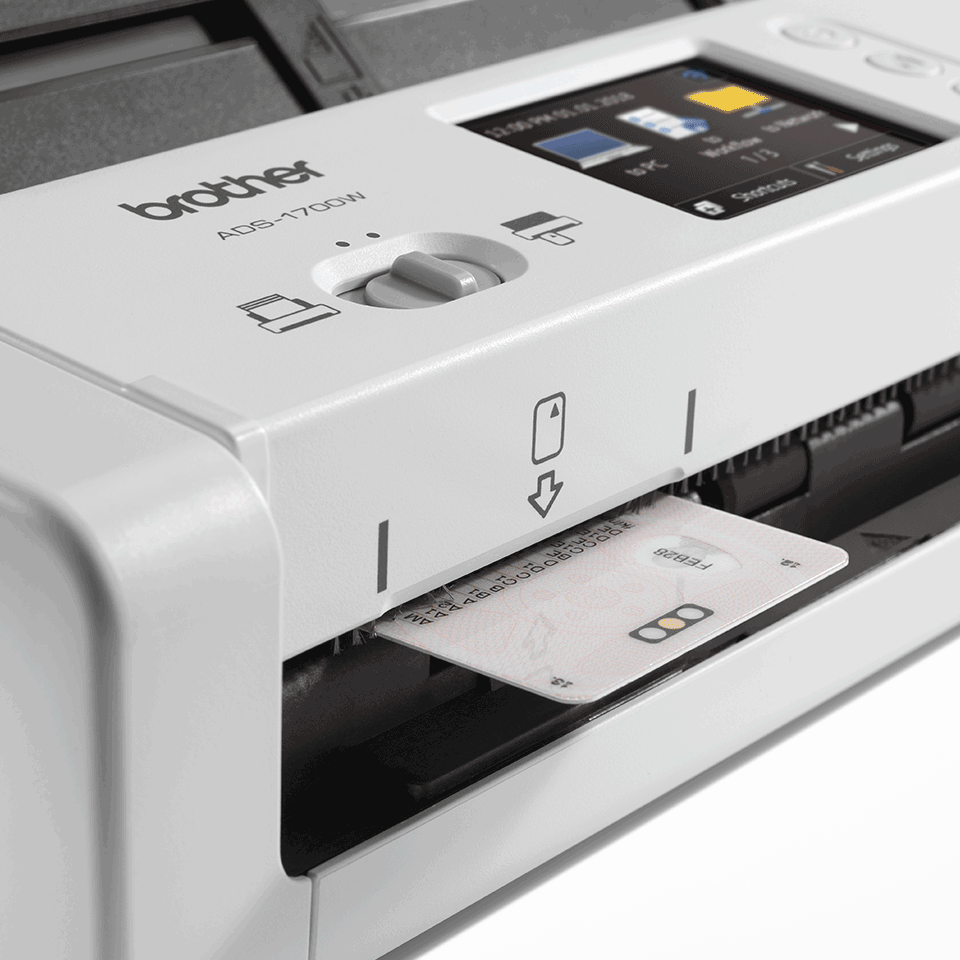 ADS-1700W Näppärä ja kompakti langaton asiakirjaskanneri  7