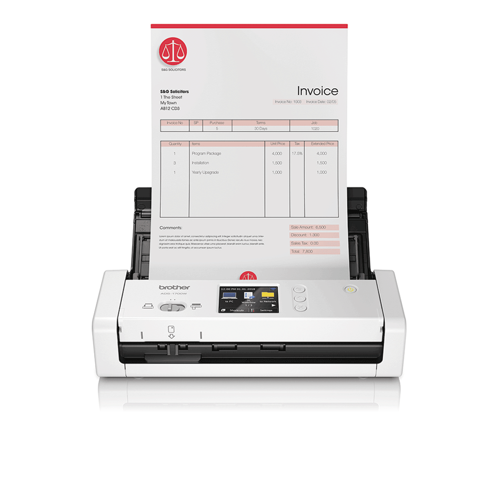 ADS-1700W - langaton asiakirjaskanneri