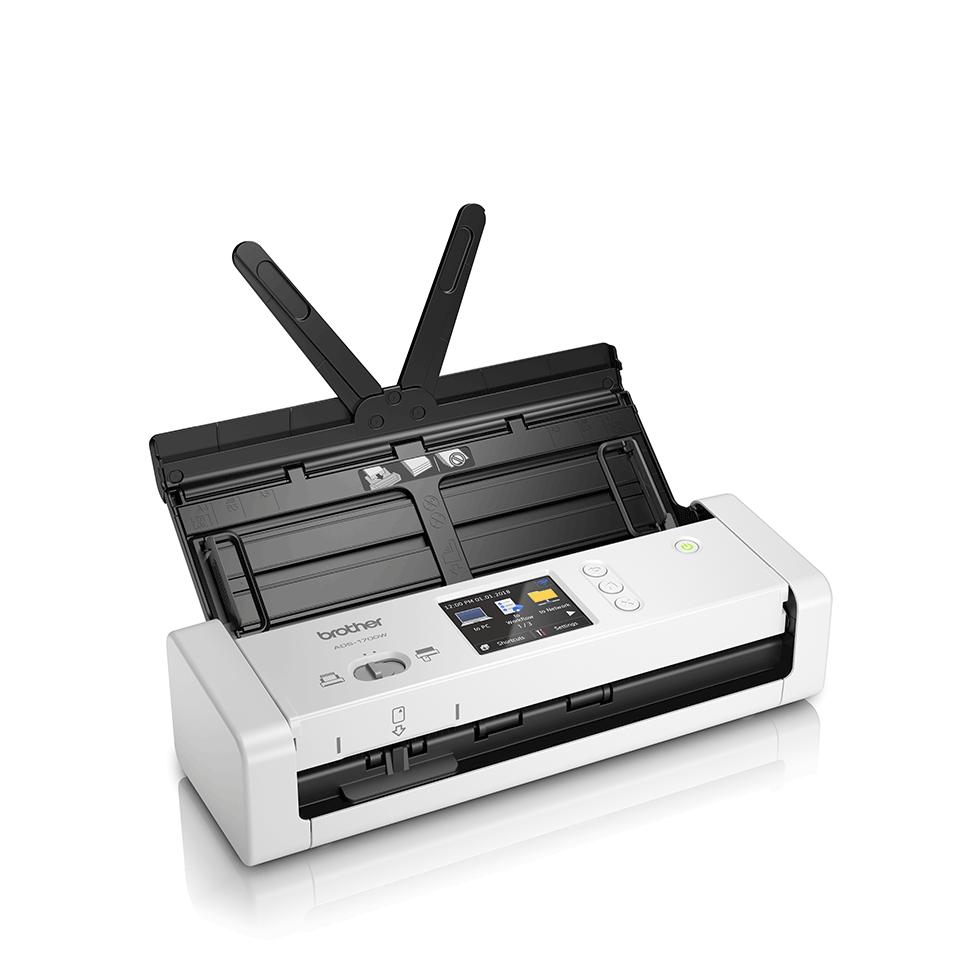 ADS-1700W Näppärä ja kompakti langaton asiakirjaskanneri  3