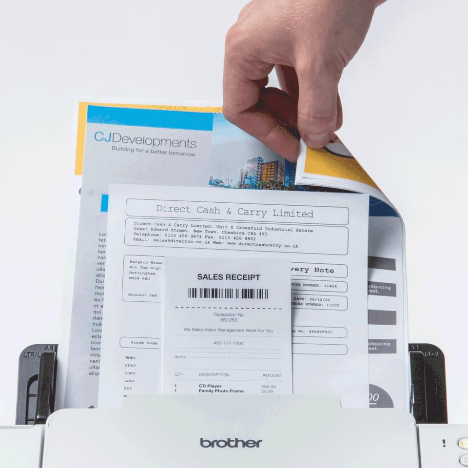 ADS-2700W - langaton työpöytäskanneri 5