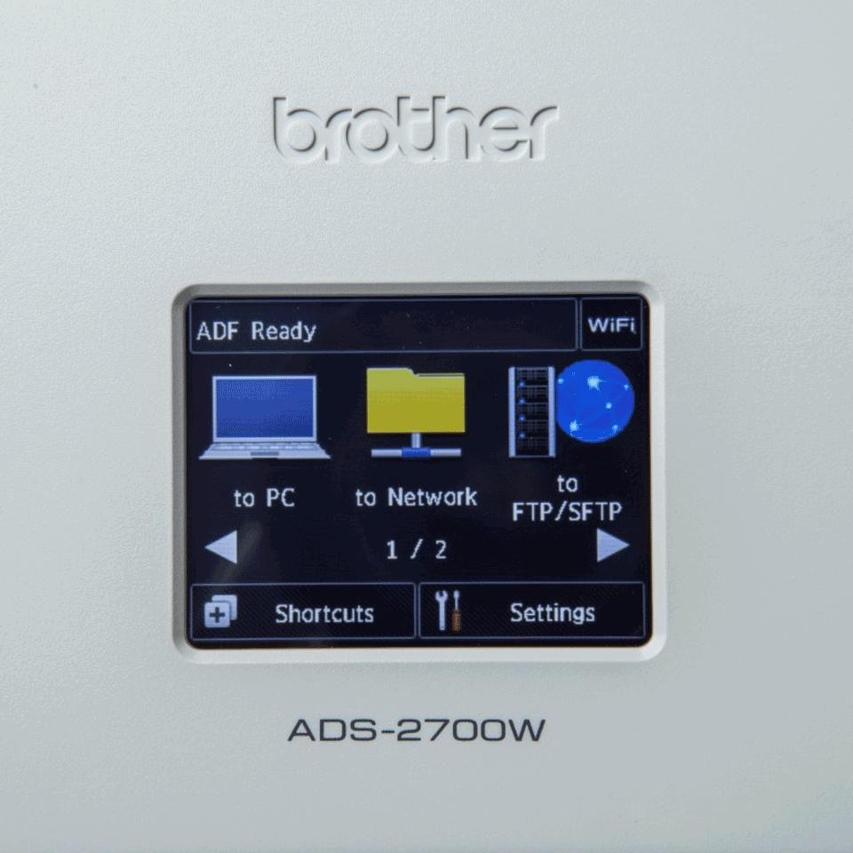 ADS-2700W - langaton työpöytäskanneri 7