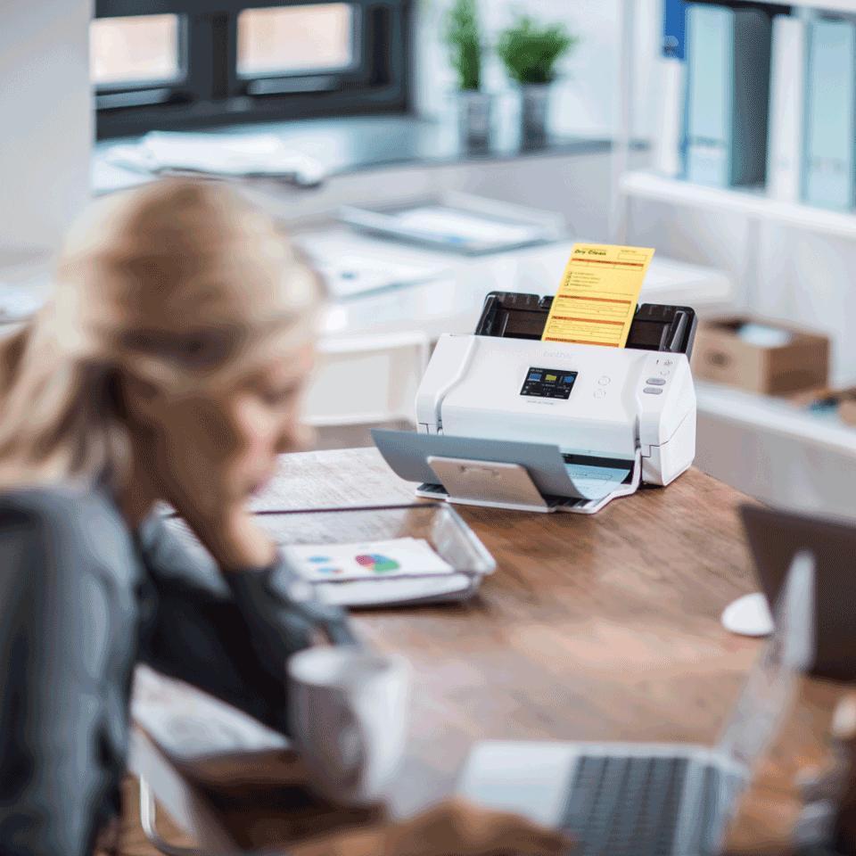 ADS-2700W - langaton työpöytäskanneri 9
